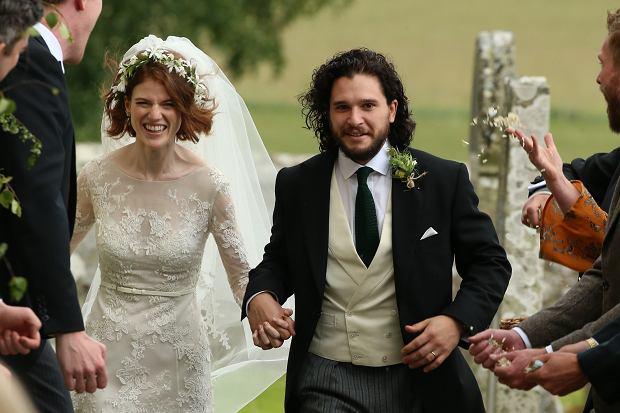 Para Z Gry O Tron Już Po ślubie Kochają Się W Serialu I W