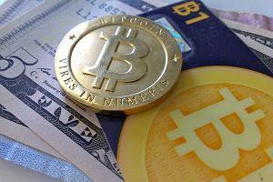 Bitcoin, wirtualna waluta, jest tylko zapisem na koncie