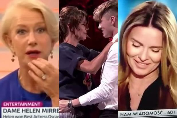 Helen Mirren, Edyta G�rniak i Hanna Lis
