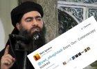 Zdj�cie przedstawiaj�ce rzekomo przyw�dc� PI, Abu Bakra al-Bagdadiego