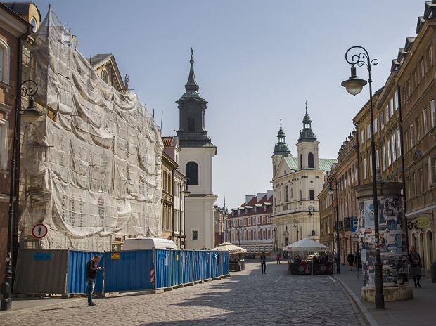 Dom urodzenia Marii Sk�odowskiej-Curie przechodzi remont