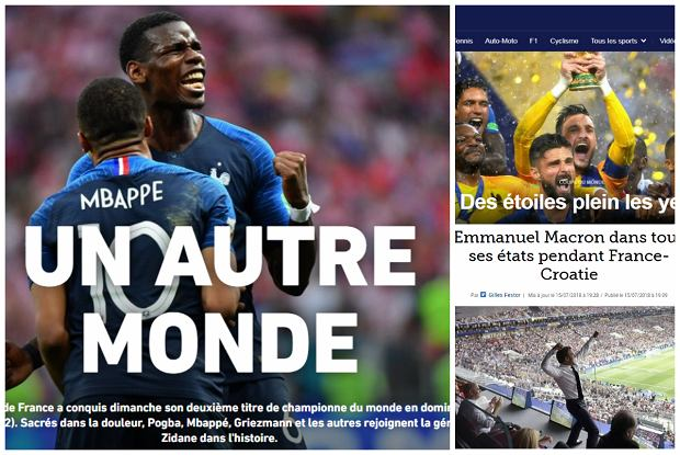 Francuskie media po mistrzostwie świata