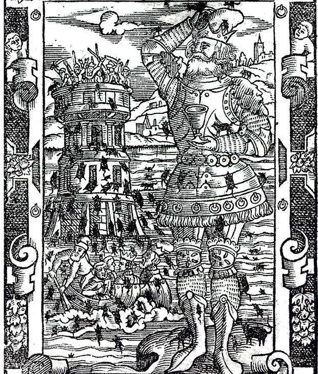 Naukowcy spierają się, jak naprawdę nazywał się władca zjedzony przez myszy. W najstarszych rękopisach kroniki Galla Anonima książę występuje jako 'Popel' bądź 'Pumpil', natomiast Wincenty Kadłubek pisał 'Pompilius'.