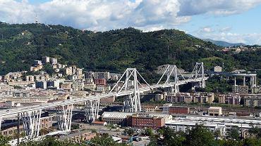 Tak wyglądał wiadukt Morandi w Geni przed katastrofą