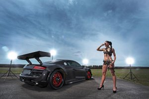 Recon MC8 | Audi R8 na sterydach | Galeria