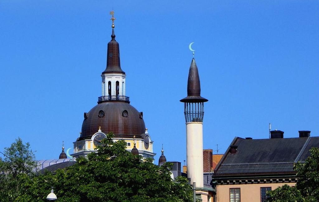 Kosciół Św. Katarzyny i Meczet Sztokholmski (fot. Poxnar/Wikimedia Commons/public domain)