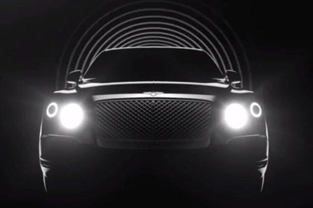 Bentley zaczyna odliczanie do premiery SUV-a