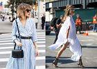 Sukienka koszulowa w trzech stylach: Londyn, San Francisco i Paryż