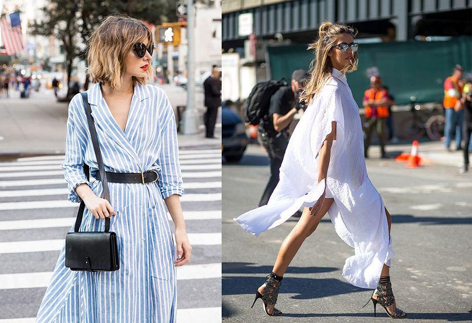 b8e4ccfffc Sukienka koszulowa w trzech stylach  Londyn