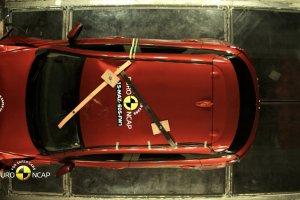 Mazda CX-3 - test zderzeniowy