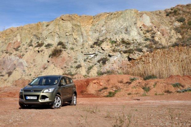 Ford Kuga - test | Pierwsza jazda