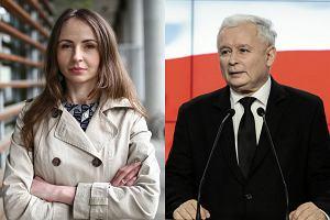 """""""Przymusowe wybieranie imienia wyłącznie do aktu zgonu"""". Polityczka o słowach Kaczyńskiego"""