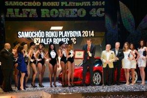 Samoch�d Roku Playboya 2014
