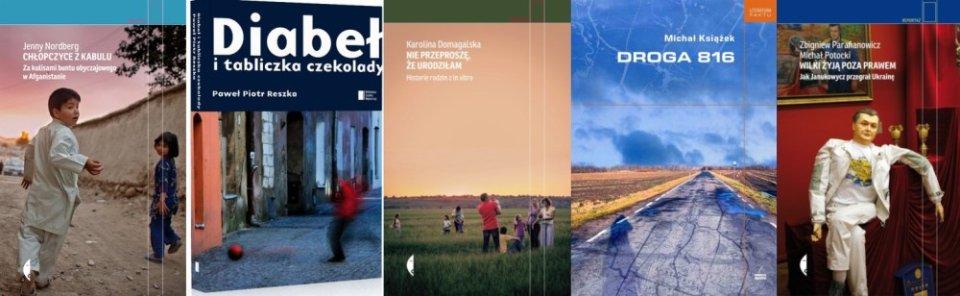 Książki finalistki Nagrody Kapuścińskiego 2016