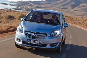 Opel Meriva z 95-konnym silnikiem 1.6 CDTI
