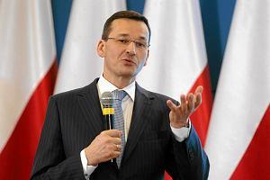 Morawiecki: Obniżka prognoz wzrostu PKB Polski przez OECD nie jest niepokojąca