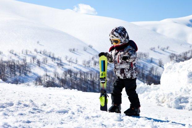 Jak ubrać dziecko na narty?
