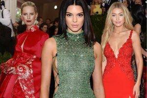 Modelki na Met Gala 2015. Gwiazdy wieczoru czy tylko t�o? [GALERIA]