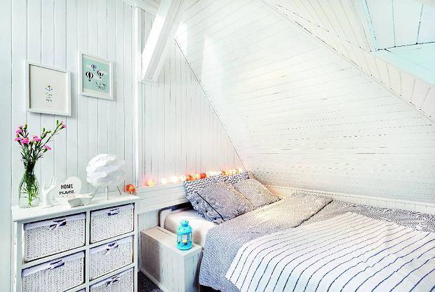 Metamorfoza sypialni na poddaszu w skandynawskim stylu