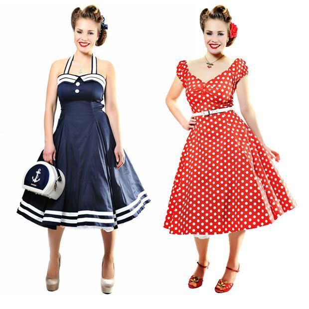 Moda w stylu lat 50.