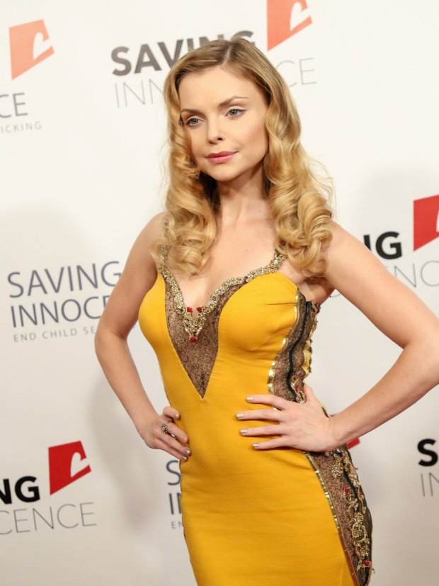 BAUER-GRIFFIN.COM  Izabella Miko is seen attending 4th Annual Saving Innocence Gala at SLS Hotel in Los Angeles, California.  NON-EXCLUSIVE   October 17, 2015 Job: 151017AN2   Los Angeles, CA www.bauergriffin.com