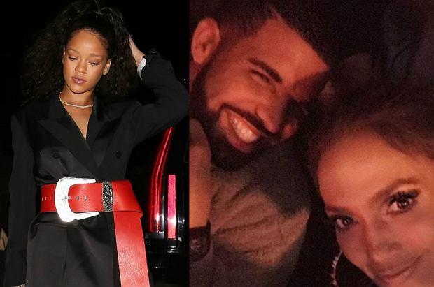 Rihanna i Drake przez lata ze sobą kręcili, ale wygląda na to, że raper na dobre dał sobie spokój z gorącą Barbadoską. Przerzucił się na Jennifer Lopez? To ZUPEŁNIE nie podoba się jego byłej dziewczynie.