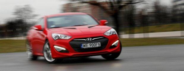 Hyundai Genesis Coupe 3.8 V6   Test   Hyundai, jakiego nie znacie!