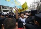 Krewni pasa�er�w zaginionego Boeinga 777 starli si� z policj� w Pekinie
