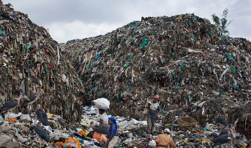 Kenia, zakazuje plastikowych toreb