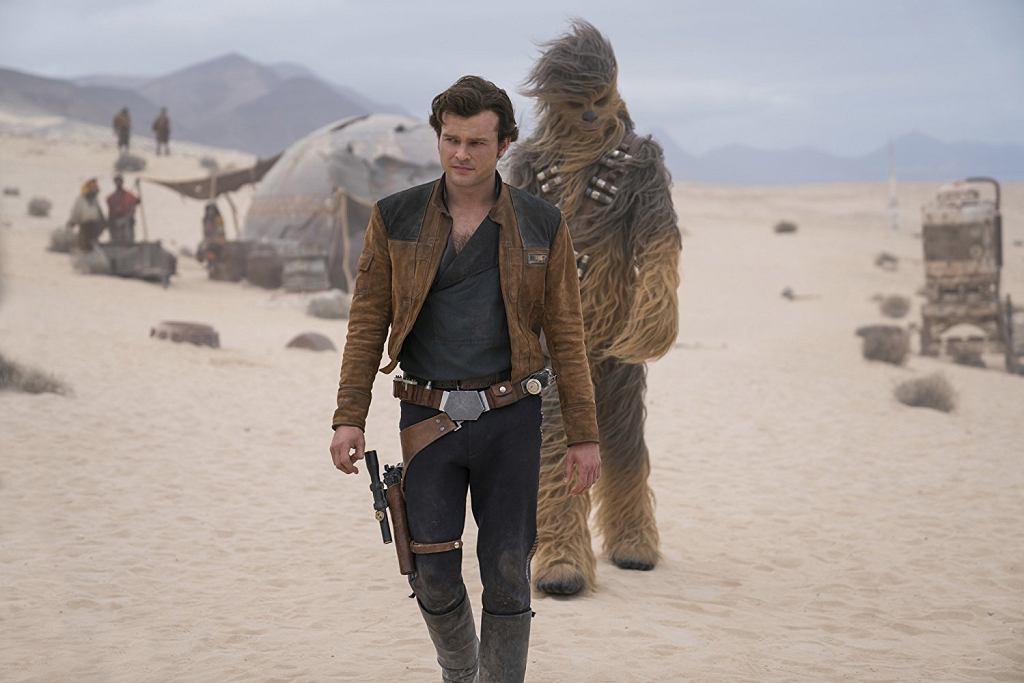 Kadr z filmu 'Han Solo: Gwiezdne wojny - historie' (mat. promocyjne) / Kadr z filmu 'Han Solo: Gwiezdne wojny - historie' (mat. promocyjne)