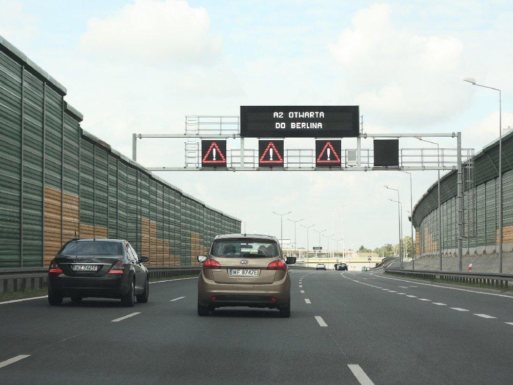 Autostrada A2 otwarta dla ruchu