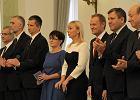 Prezydent powo�a� nowych ministr�w. Uroczysto�� zacz�� od odwo�ania Rostowskiego