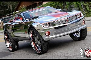 Niezwyk�y Chevrolet Camaro SS