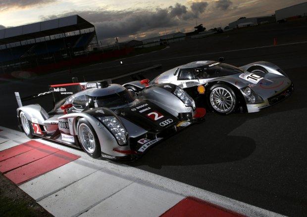 Audi R8C i Audi R18