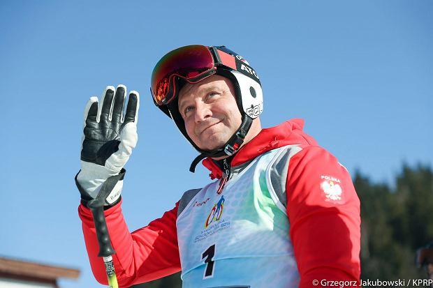 Prezydent na narciarskim Memoriale Marii Kaczyńskiej