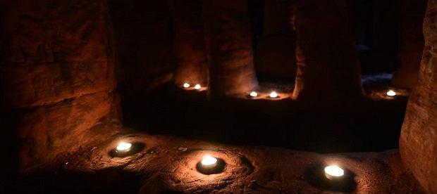 Zdjęcie numer 5 w galerii - Królicza nora okazała się tajemnym przejściem do ponad 700-letniej jaskini templariuszy [WIDEO]