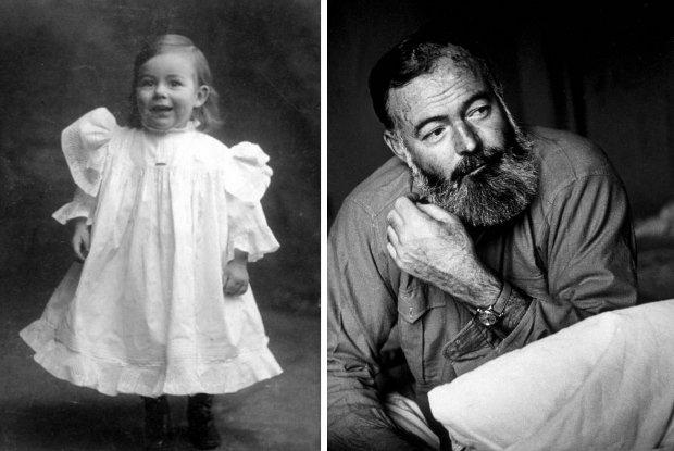 Ernest Hemingway by� dziewczynk�; inni pisarze te� nosili sukienki