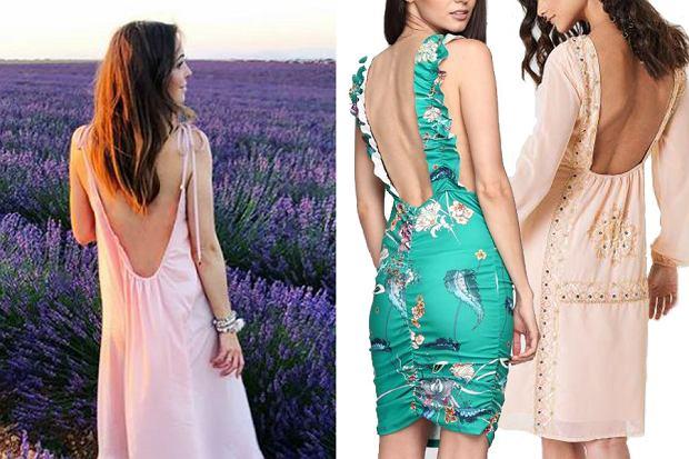 Sukienka z odkrytymi plecami doda każdej z was kobiecości i wdzięku! Znalazłyśmy modele podobne do sukienki Ani Wendzikowskiej.
