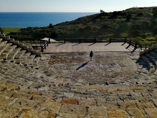 Amfiteatr w Kurion, Cypr