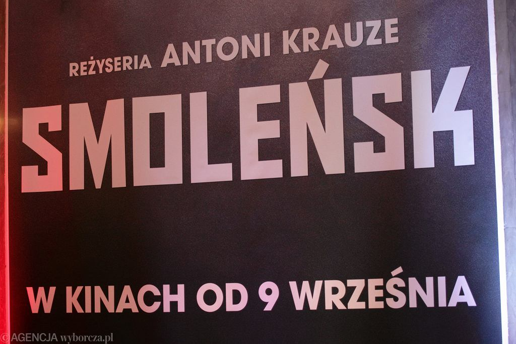 Premiera filmu 'Smoleńsk'