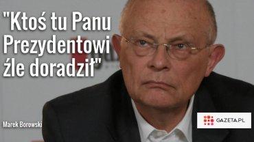 Borowski jednym wpisem obna�a bezsens referendum Dudy. Chodzi o pytanie ws. Las�w Pa�stwowych