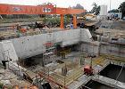 Budowa stacji Powiśle została wstrzymana