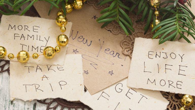 Postanowienia noworoczne robi chyba każdy. Łatwiej je jednak spisać, niż zrealizować.