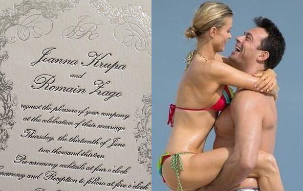 Joanna Krupa tym razem nie prze�o�y �lubu? Przygotowania id� pe�n� par�!