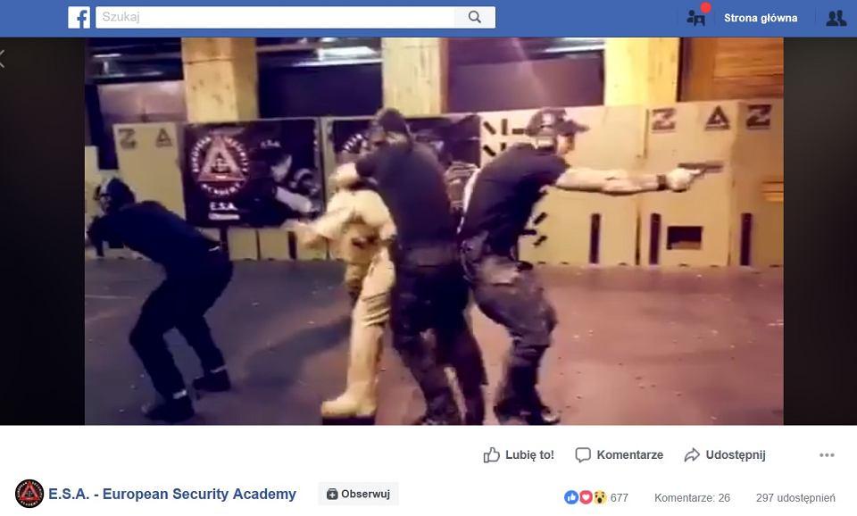 Nawet kilkunastu członków ukraińskich grup neonazistowskich zostało w latach 2015-17 przeszkolonych przez wrocławską Europejską Akademię Bezpieczeństwa