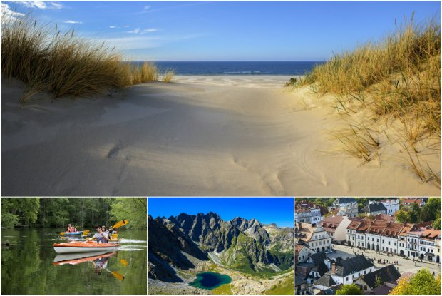 Alpejskie krajobrazy, najwi�ksze mokrad�a w Europie i plany filmowe Bollywoodu. Zobacz Polsk� z innej strony