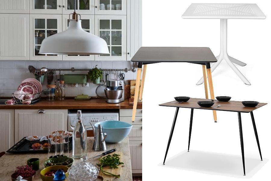 Stół wolnostojący do małej kuchni