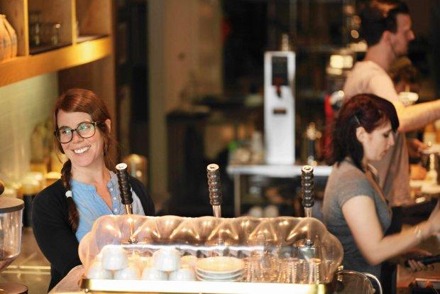 Blue Bottle Coffee, kawiarnia i palarnia na Williamsburgu