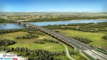 Most Południowy przez Wisłę w Warszawie - projekt