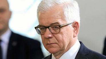 Minister spraw zagranicznych w rządzie PiS Jacek Czaputowicz. Warszawa, 9 stycznia 2018
